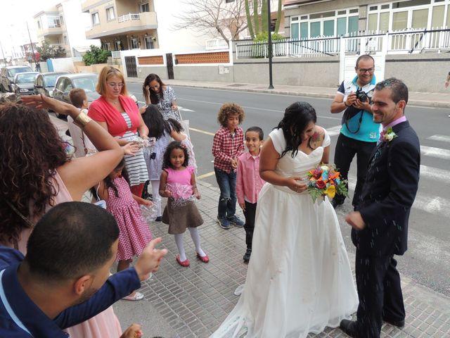 La boda de Ayose y Katerine en Corralejo, Las Palmas 39