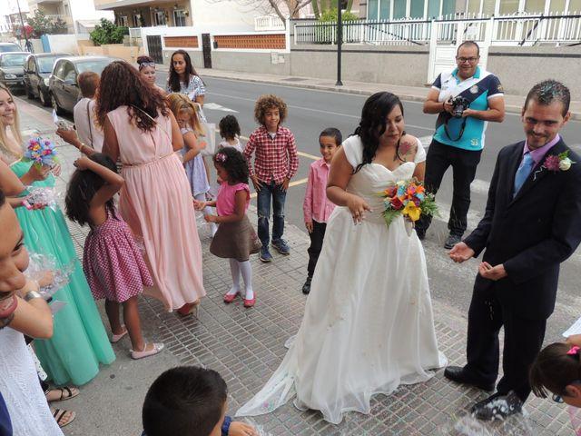 La boda de Ayose y Katerine en Corralejo, Las Palmas 40