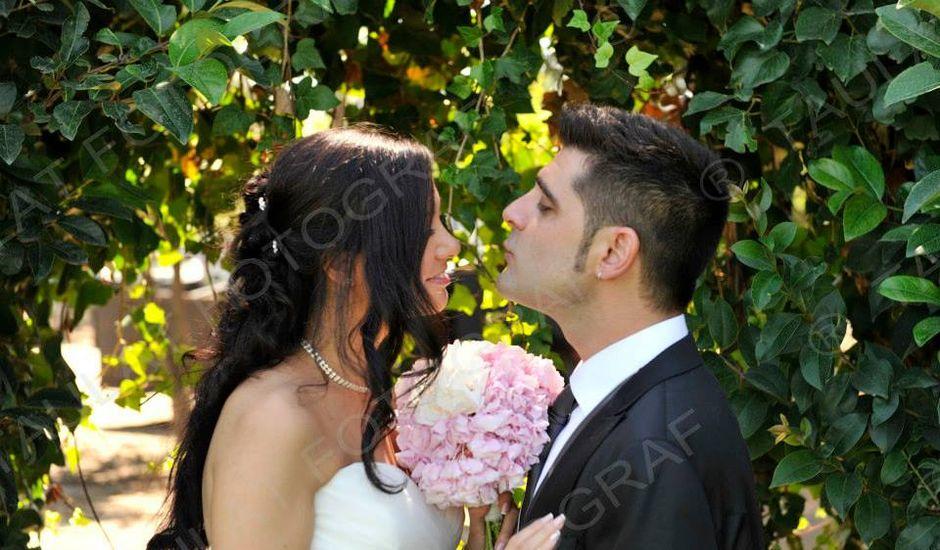 La boda de Carlos y Maria en L' Aldea, Tarragona
