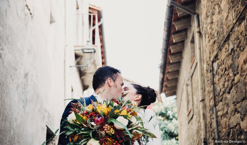 La boda de Esteve y Iris en Sant Ferriol, Girona