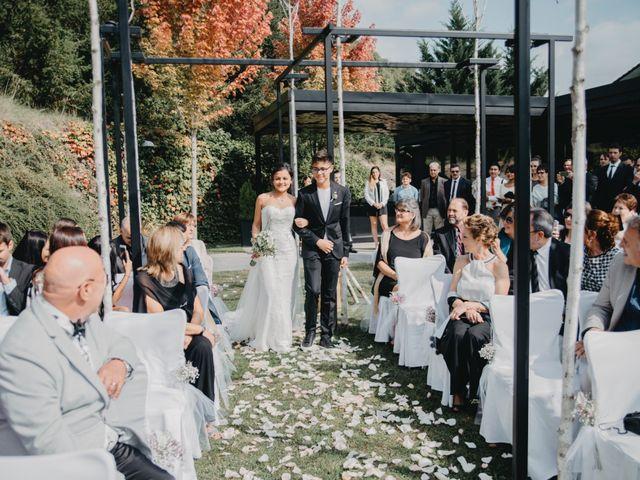La boda de Carles y Melissa en La Vall De Bianya, Girona 19