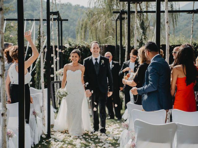 La boda de Carles y Melissa en La Vall De Bianya, Girona 22