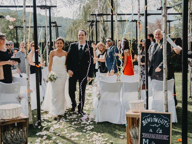 La boda de Carles y Melissa en La Vall De Bianya, Girona 23