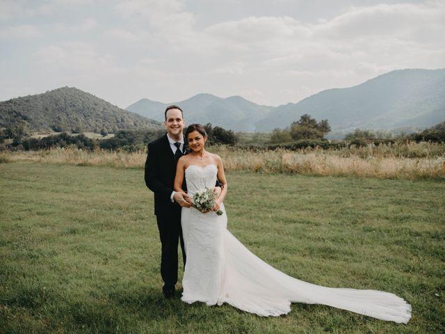 La boda de Carles y Melissa en La Vall De Bianya, Girona 26