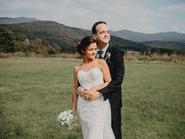 La boda de Carles y Melissa en La Vall De Bianya, Girona 27