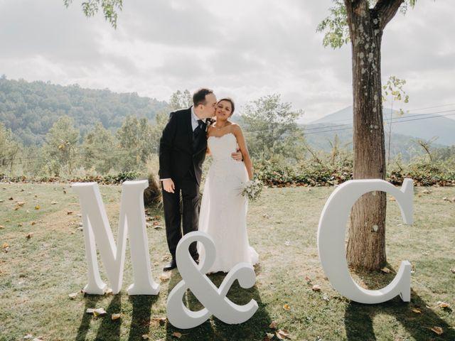 La boda de Carles y Melissa en La Vall De Bianya, Girona 31