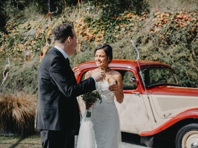 La boda de Carles y Melissa en La Vall De Bianya, Girona 32