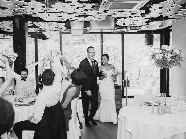 La boda de Carles y Melissa en La Vall De Bianya, Girona 34