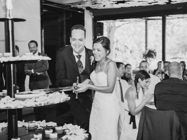 La boda de Carles y Melissa en La Vall De Bianya, Girona 35
