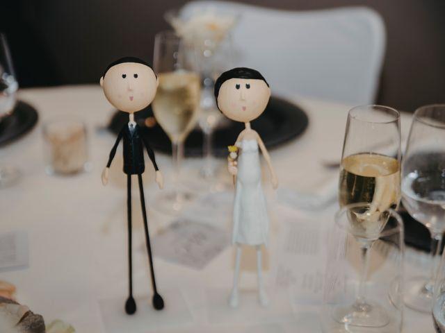 La boda de Carles y Melissa en La Vall De Bianya, Girona 36