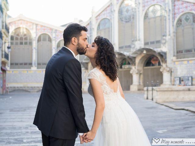 La boda de Adrián y Carmen Lucía  en Valencia, Valencia 11