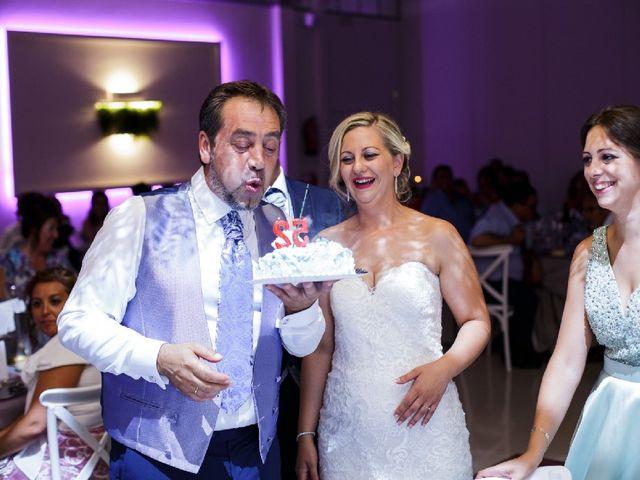 La boda de Fernando  y Esmeralda  en Los Santos De Maimona, Badajoz 4