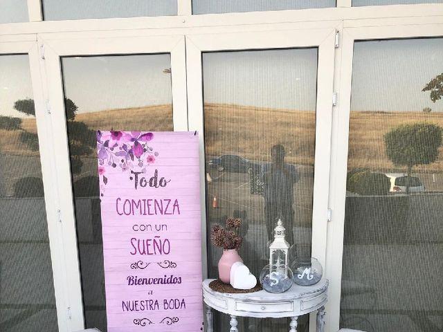 La boda de Fernando  y Esmeralda  en Los Santos De Maimona, Badajoz 6