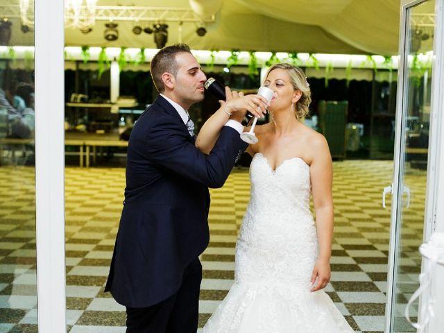 La boda de Fernando  y Esmeralda  en Los Santos De Maimona, Badajoz 10