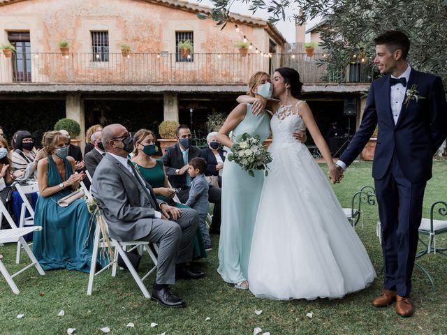 La boda de Sara y Carlos en La Garriga, Barcelona 45