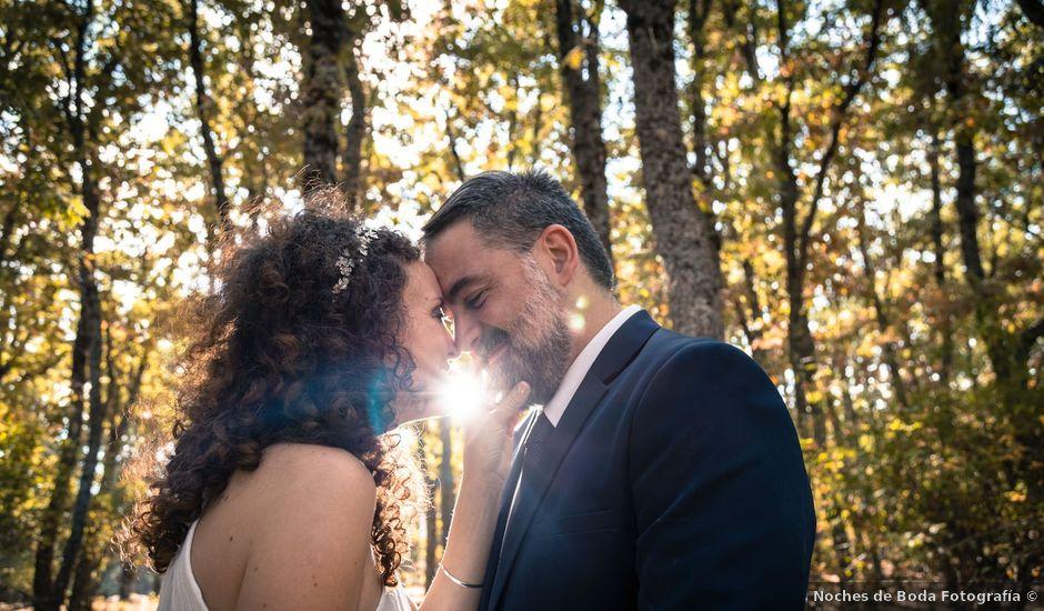 La boda de Nacho y Jara en Rascafria, Madrid