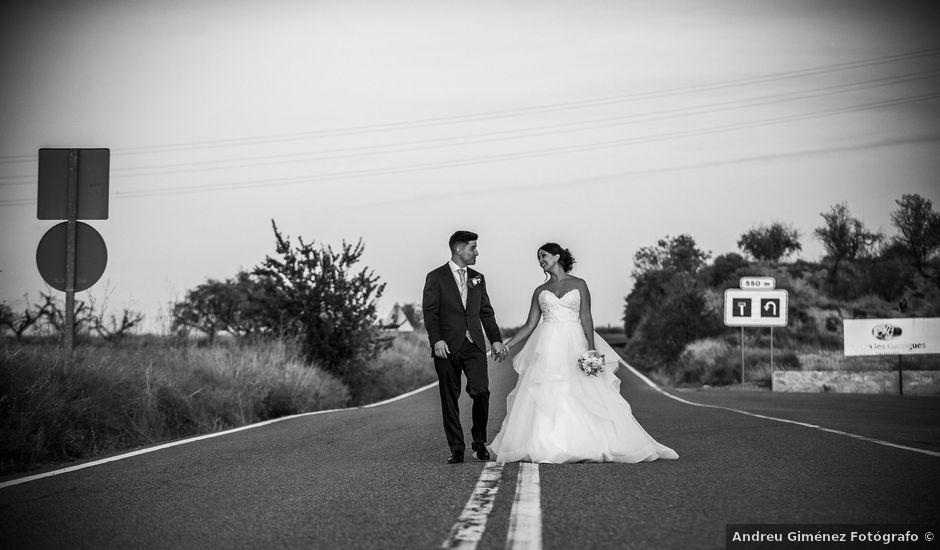 La boda de Sergio y Raquel en Les Borges Blanques, Lleida