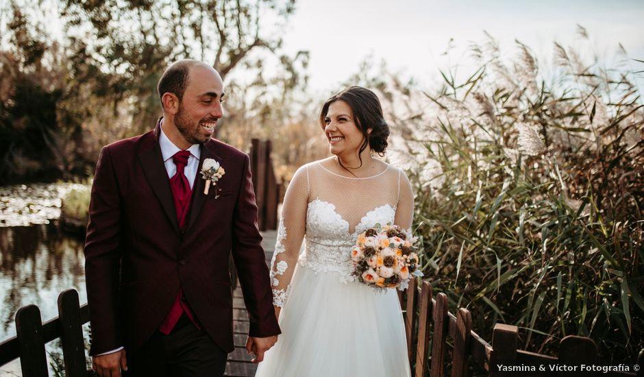 La boda de David y Montse en Deltebre, Tarragona