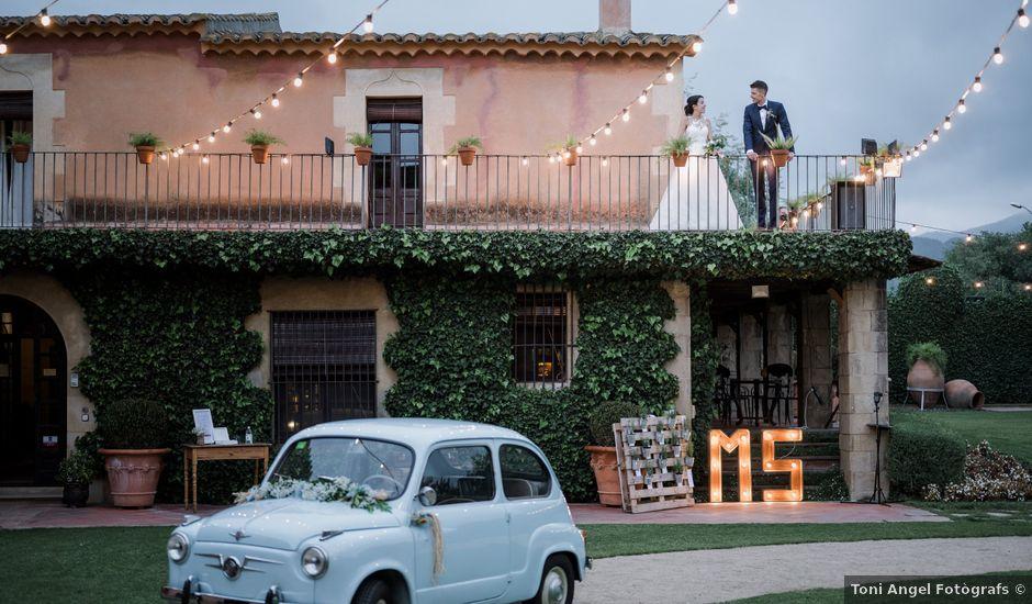 La boda de Sara y Carlos en La Garriga, Barcelona