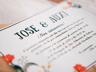 La boda de Auxi y Jose 1