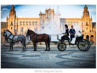 La boda de Victoria y Jonathan