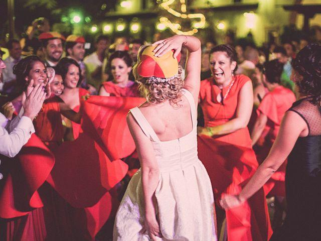 La boda de Jose y Auxi en Pedrera, Sevilla 72