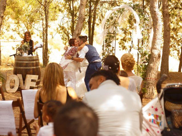 La boda de david y sandra en Agramunt, Lleida 2