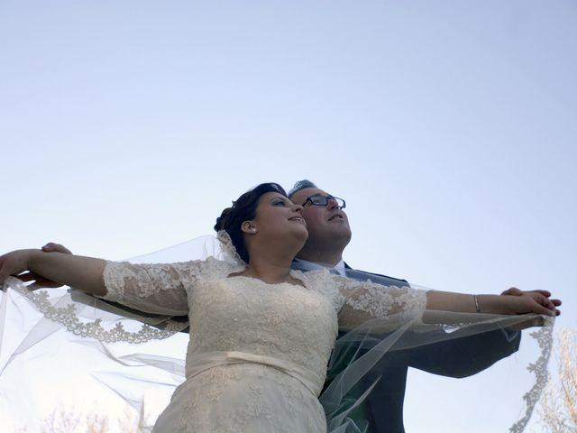 La boda de Angel y Pili en Santa Amalia, Badajoz 4
