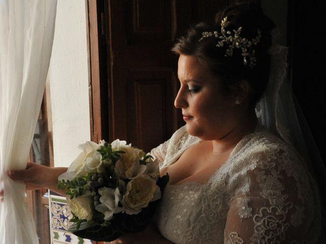 La boda de Angel y Pili en Santa Amalia, Badajoz 7