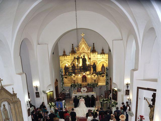 La boda de Angel y Pili en Santa Amalia, Badajoz 12