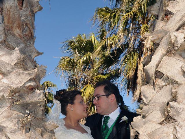 La boda de Angel y Pili en Santa Amalia, Badajoz 17