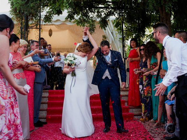 La boda de Antonio y Isabel en Málaga, Málaga 42