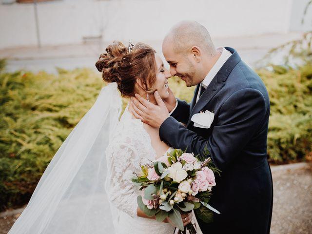 La boda de Rosalía y Damian