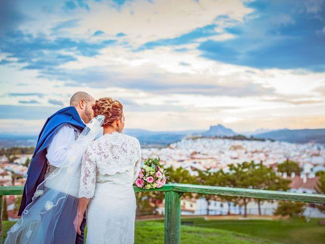 La boda de Damian y Rosalía en Antequera, Málaga 2