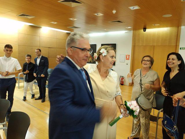 La boda de Jesús y Encarna en Totana, Murcia 1