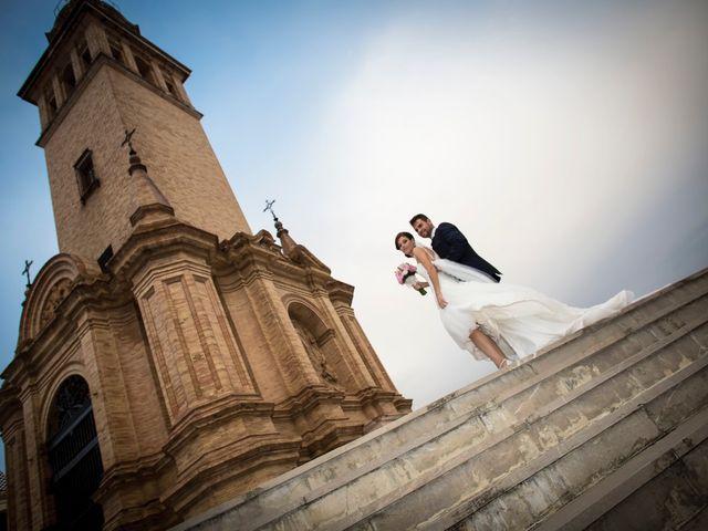 La boda de Francisco y Luz Maria en Dos Hermanas, Sevilla 21