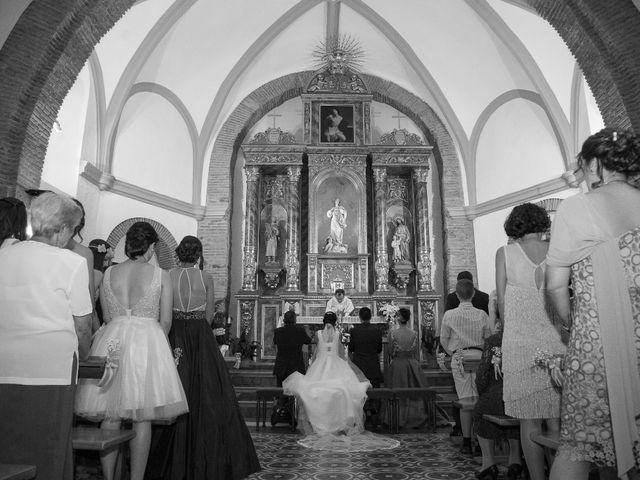 La boda de Tines y Sandra en Carrion De Calatrava, Ciudad Real 12