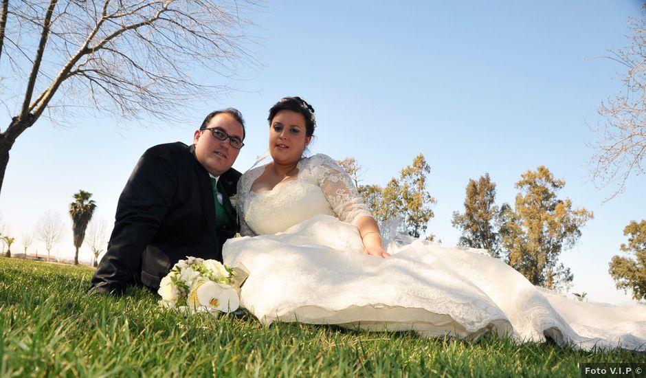 La boda de Angel y Pili en Santa Amalia, Badajoz