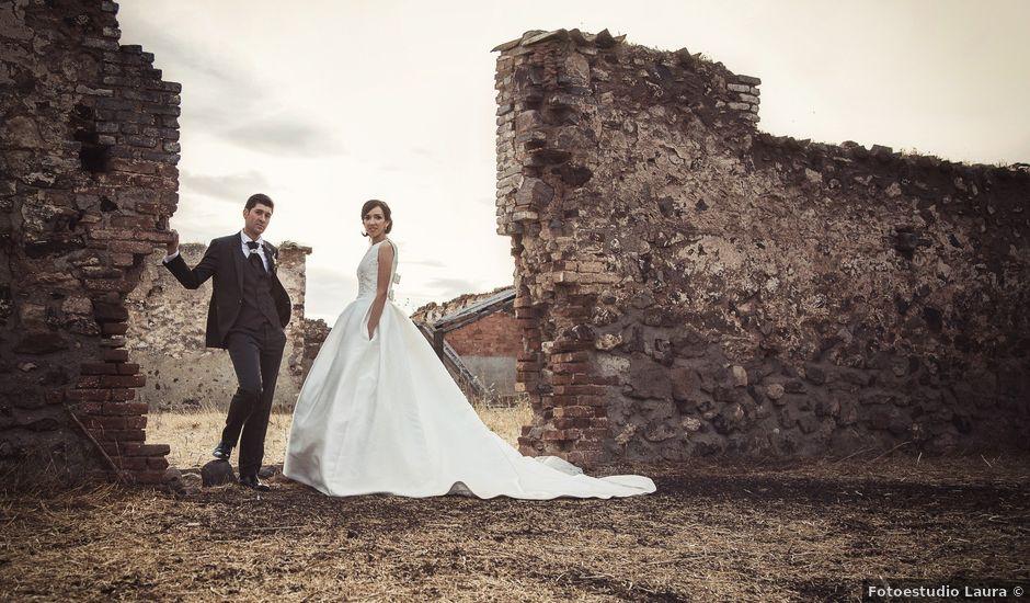 La boda de Tines y Sandra en Carrion De Calatrava, Ciudad Real