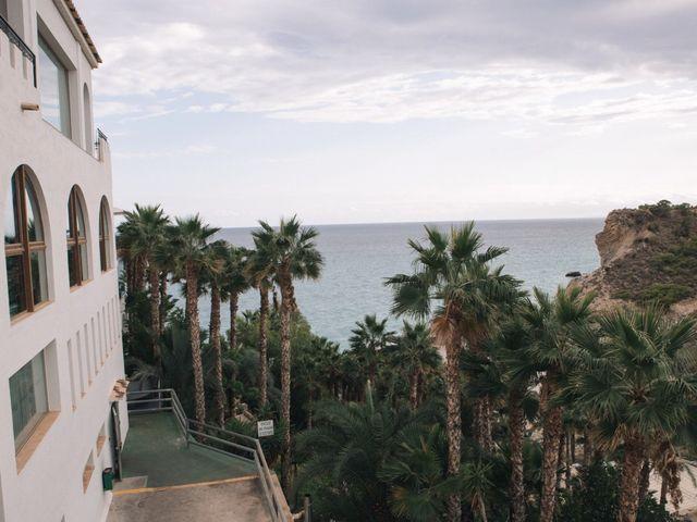 La boda de Miguel y Sine en La/villajoyosa Vila Joiosa, Alicante 16