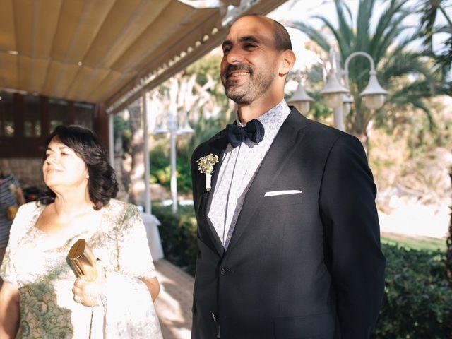 La boda de Miguel y Sine en La/villajoyosa Vila Joiosa, Alicante 22