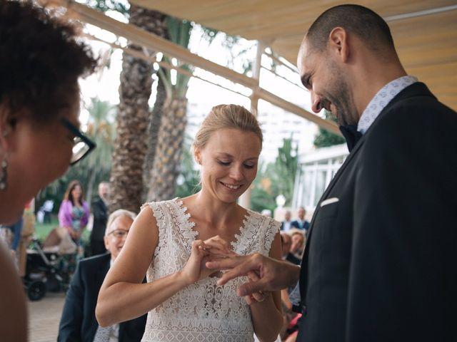 La boda de Miguel y Sine en La/villajoyosa Vila Joiosa, Alicante 34