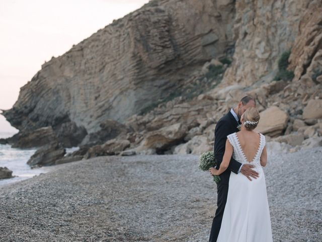 La boda de Miguel y Sine en La/villajoyosa Vila Joiosa, Alicante 45