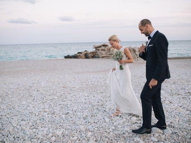 La boda de Miguel y Sine en La/villajoyosa Vila Joiosa, Alicante 46