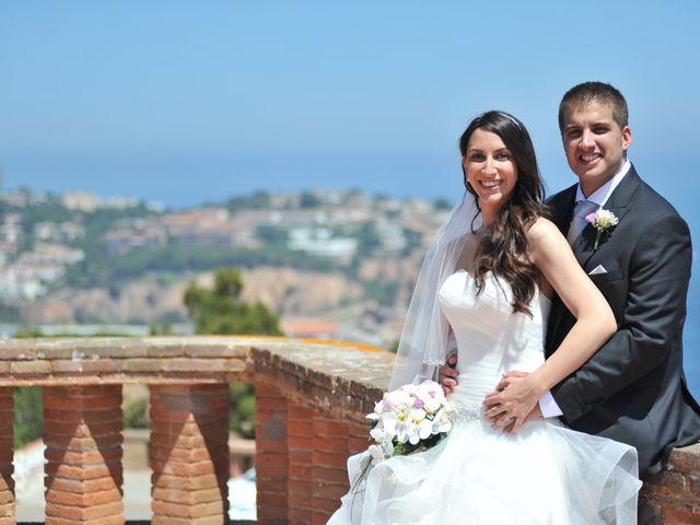 La boda de Daniel y Carla en Sant Feliu De Guixols, Girona 25
