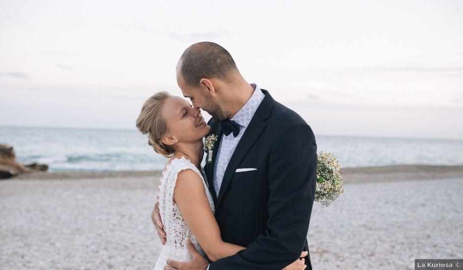 La boda de Miguel y Sine en La/villajoyosa Vila Joiosa, Alicante