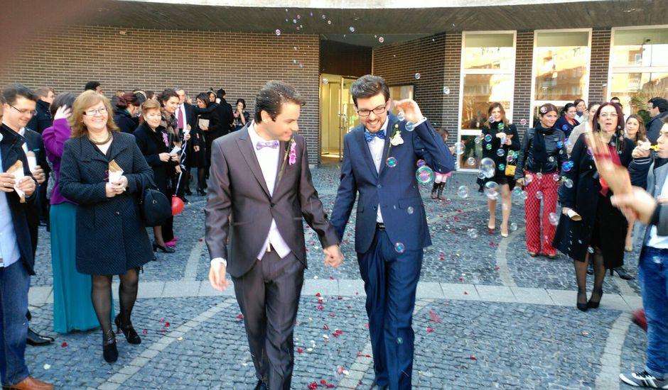 La boda de Mario y Dan en Salamanca, Salamanca