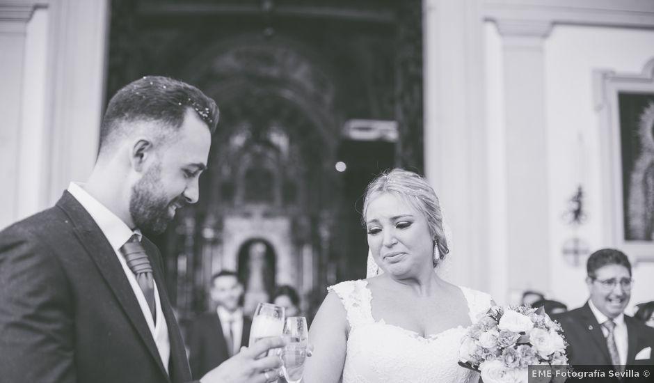 La boda de Chema y Miriam en Bollullos De La Mitacion, Sevilla