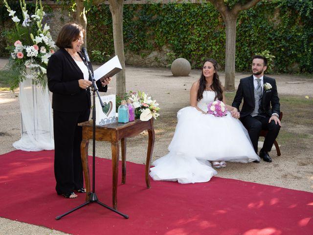 La boda de Lara y Jose en Premia De Dalt, Barcelona 15