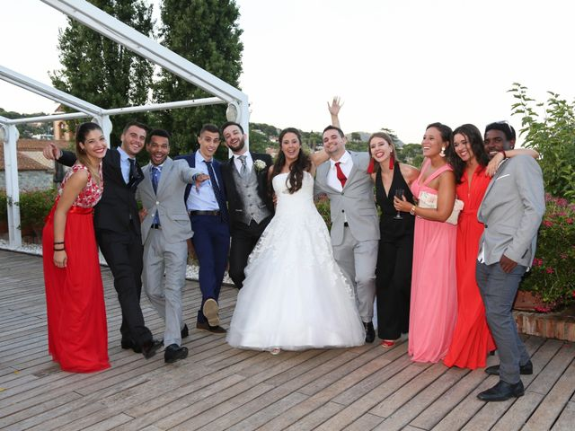 La boda de Lara y Jose en Premia De Dalt, Barcelona 35